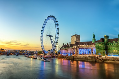 Londyn, Tamiza i London Eye