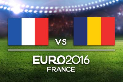 Mecz otwarcia - Francja vs Rumunia