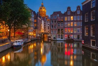 Nocne życie Amsterdamu