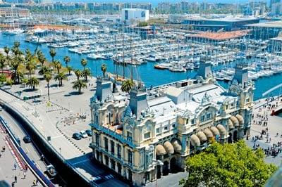 Stary Port w Barcelonie