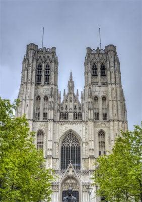 Bruksela Katedra św. Michała i św. Guduli
