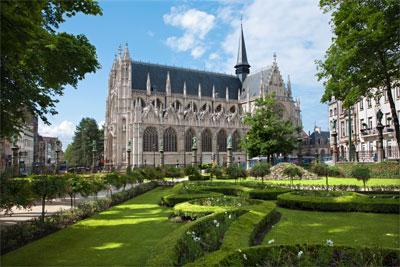 Kościół Notre Dame du Sablon w Brukseli