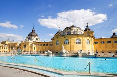Łaźnie termalne w Budapeszcie