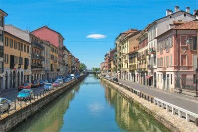 Naviglio w Mediolanie