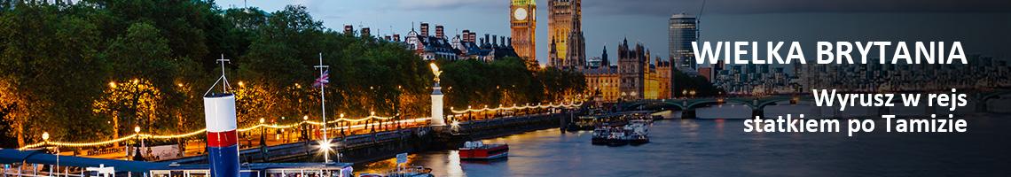 Wielka Brytania - Wyrusz w rejs statkiem po Tamizie