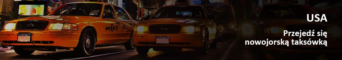 USA - Przejedź się nowojorską taksówką