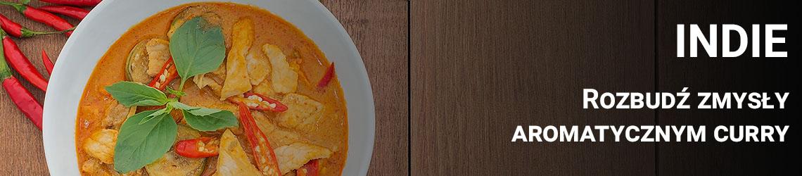 Indie - Rozbudź zmysły aromatycznym curry
