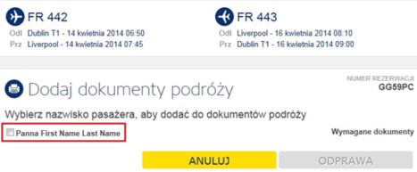 Odprawa Ryanair 2