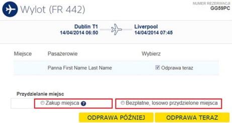 Odprawa Ryanair 4
