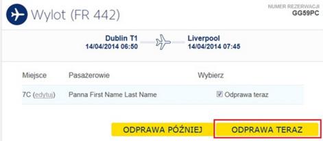 Odprawa Ryanair 6